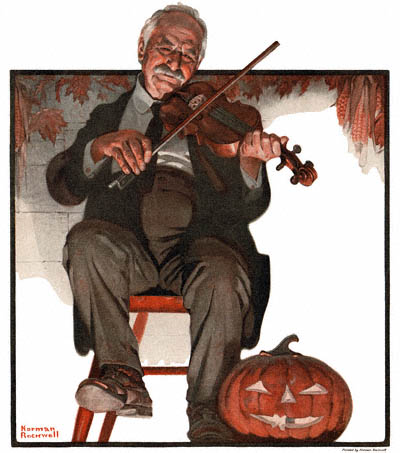 1921-10-22-The-Country-Gentleman-Norman-Rockwell-cover-Man-Playing-Violin-no-logo-400